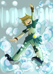 SO MUCH BUBBLES!! by skyblitzhart