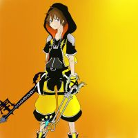Sora Master Form Colored by Itachisgirl4ever