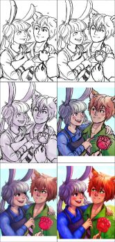 The making of Judy and Nick by Ry-Spirit