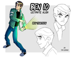 BEN 10_COLORED by Gixye