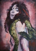 Alice Cooper with snake by AAArmen