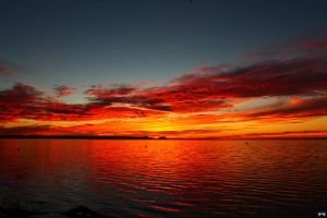 Fall Sunset Series #83 by LifeThroughALens84
