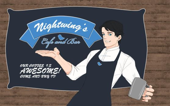 Dick Grayson by milkisall