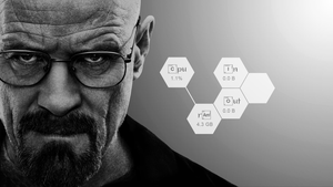 Breaking Bad skin for Rainmeter 1.0 by HerrAusragend