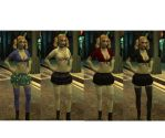 jeanette in different outfits by cytherina