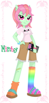 MLP: Equestria Girls Minty by KPenDragon