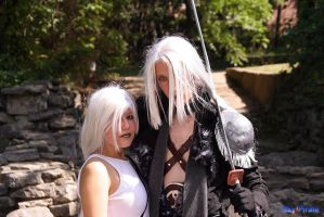 Amano Sephiroth and Tifa by LadyTezra