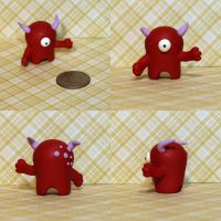 Fidgette the Timid Monster by TimidMonsters