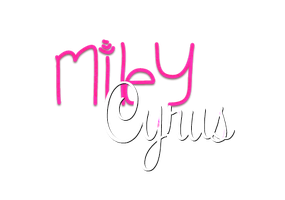 TextoPNG| Miley Cyrus by YuliiEditiions