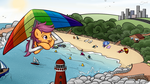 Scootaloo's summer holiday by secret-pony
