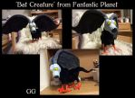 Bat Creature from Fantastic Planet by pookyhorse