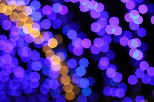 Purple Bokeh by kato9stock