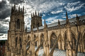 Yorkminster - Gothic roof by Yupa