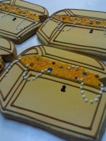 Treasure Chest Cookies by eckabeck