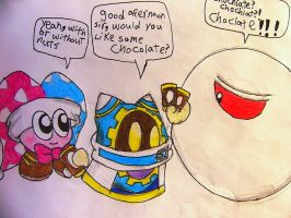CHOCOLATE,   Kirby style by Rotommowtom