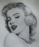 Marilyn Monroe by JackieBath