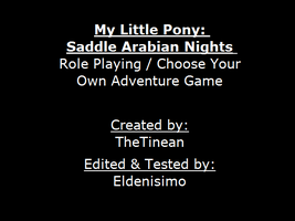 MLP: Saddle Arabian Nights CYOA Game (Download) by thetinean