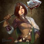 Lia Gravedigger by anotherdamian