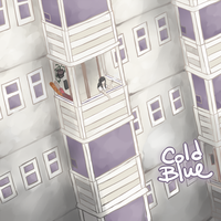 Cold Blue cover page by harasi