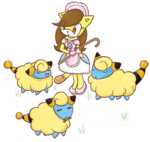 little bo mareep by CuteyTCat