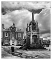 The Market Cross by Bogbrush