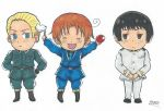 APH chibi axis powers by Iskeanime16