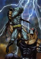 Batman Vs. Bane by RecklessHero