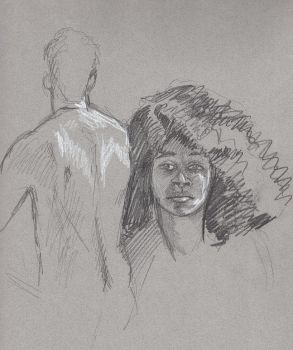 Life drawing practice 2 by FredHooper