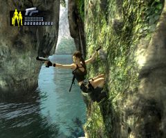 Lara on the mountain 2 by Chriss2010