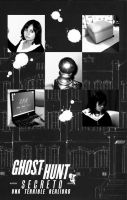 Ghost Hunt - fanfic cover by crystal-studio