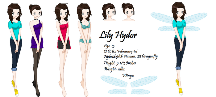 Maximum Ride OC:Lily by SweetSnow42