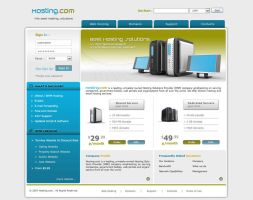 Web Hosting Template - WH002 by phyllis-L