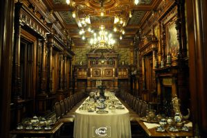 Peles Castle: Dining Room by Alex230