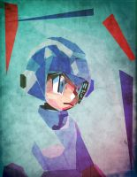 Megaman_abstracto by Tornaku