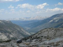 Lyell Canyon from Donohue Pass by caman213