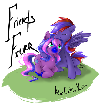 Friends Forever by Bobo-Kitty