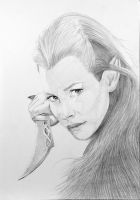 Tauriel from The Hobbit by JPfx