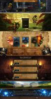 Landing Page - World of Warcraft ( Shop ) by Shizoy