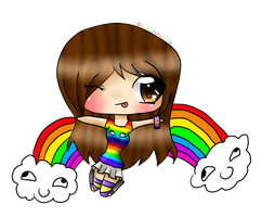 .:Chibi PC for quackzz:. by HomuGay