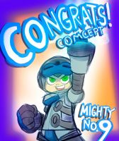 Congratulations Mighty No. 9! by AndrewDickman