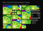 Paint Tool Sai Windows 8 Metro Tiles by ProtractorNinja
