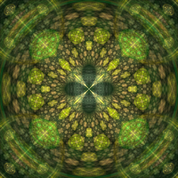 Nature's Detail - Fractal Art by CMWVisualArts