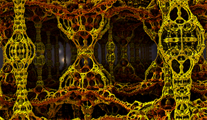 The Neural Caves of  Lysegica by PhotoComix2