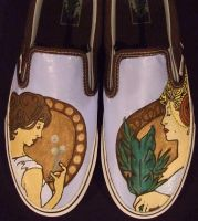 Art Nouveau Shoes by johneboi