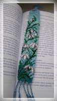 Flowers Bookmark 2 by lonely--soldier