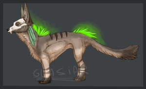 Skullmask Adopt[CLOSED] by Glasiar