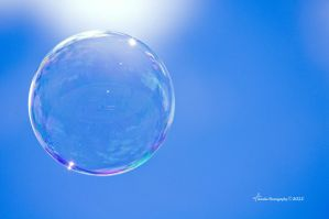 Bubble in the Sky by ainsliehubert
