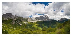 Dachstein Panorama - 01 by AndreasResch