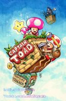 Copic Captain Toad Treasure Tracker by LemiaCrescent
