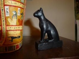 Egyptian cat by dashinvaine